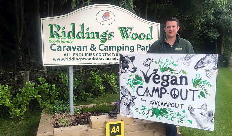 Riddings Vegan Camp Out