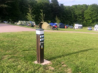 Riddings Wood Camping Electric Hook-Up